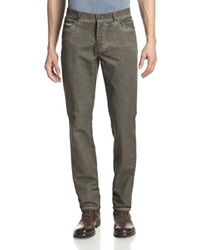 John Varvatos Collection Men's Slim Fit Skull Jean