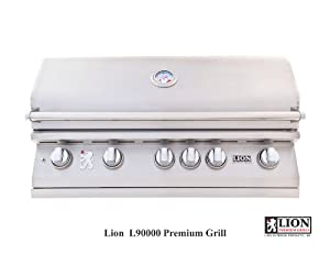 Lion 40 Inch Stainless Steel Built In Propane Gas Grill from Lion Premium Grills