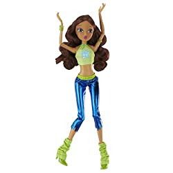"Winx 11.5"" Basic Fashion Doll Concert Collection - Aisha"