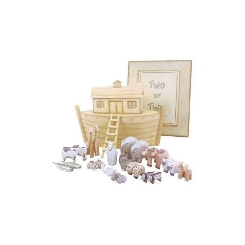 East of India - Noahs Ark & Wooden Two by Two Boxed Set