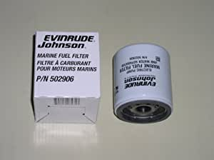 change fuel filter amazon.com : oem evinrude johnson brp fuel filter/water ...