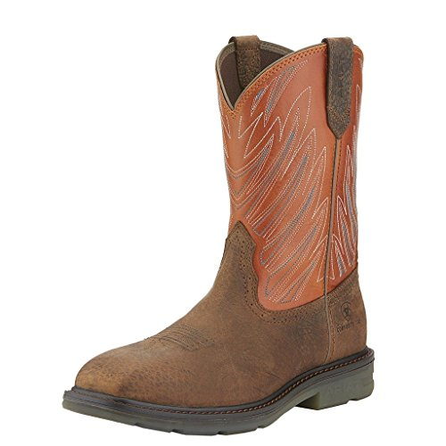 Ariat Men's Maverick Western Work Boot Wide Square Safety