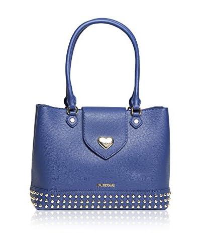 Love Moschino Schultertasche blau