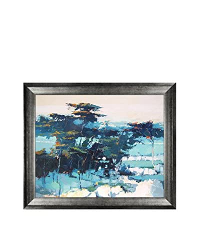 "Alex Bertaina ""Pinde"" Framed Print on Canvas"