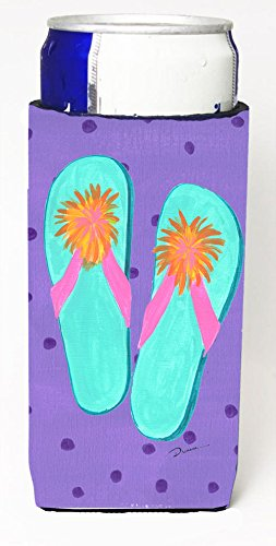 Flip Flops Michelob Ultra Koozies For Slim Cans Ld6152Muk From Caroline'S Treasures front-255458
