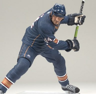 SHELDON SOURAY / EDMONTON OILERS * BLUE JERSEY * McFarlane 6 Inch NHL SERIES 18 Sports Picks Action Figure - 1