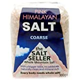 The Salt Seller Coarse Pink Himalayan Salt in a Bag 300g
