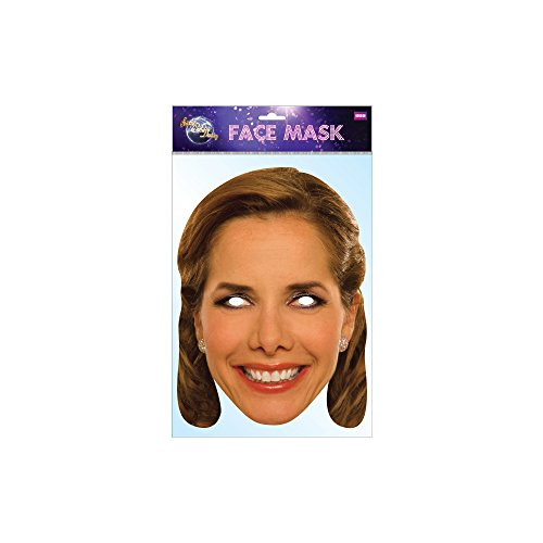 Darcey Bussell Celebrity Face Card Mask, Mask-arade, Impersonation/Fancy Dress