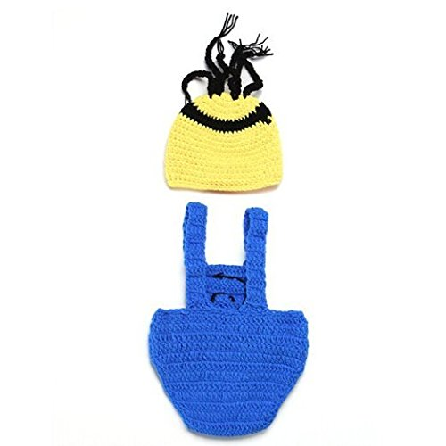 CX-Queen-Crochet-Baby-Boy-Despicable-Me-Hat-Outfit-Minion-Costume-Photo-Props