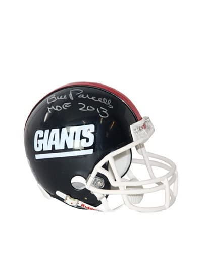 Steiner Sports Memorabilia NFL New York Giants Bill Parcells Autographed Mini Helmet