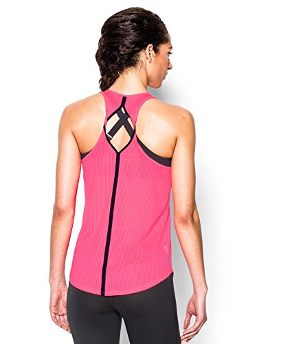 Under Armour Women's Fly-By 2.0 Solid Tank, Cerise (653), Small