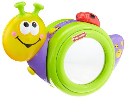 41 20LlQKXL Cheap Buy  Fisher Price Go Baby Go! 1 2 3 Crawl Along Snail