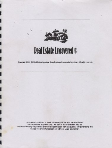 Real Estate Uncovered (#1 real estate investing