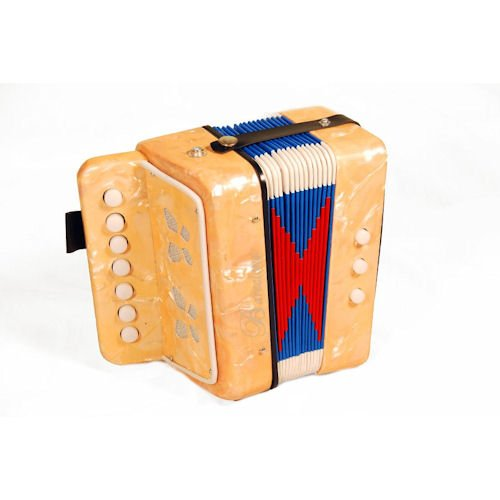 Barcelona Children's Toy Accordion - Yellow