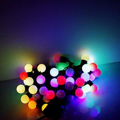 Ch&Ch 5m 50 led natale halloween luci decorative festive luci di striscia di RGB-perline lampada (220v)