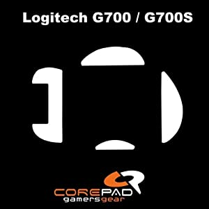 Corepad Skatez - Patins Teflon - Souris Pieds - Pro 33 - Logitech G700