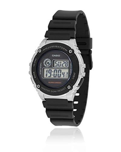 Casio Reloj de cuarzo W-216H-2A Negro 43.8  mm