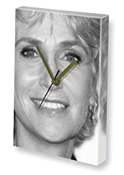 JANE LYNCH - Canvas Clock (LARGE A3 - Signed by the Artist) #js001