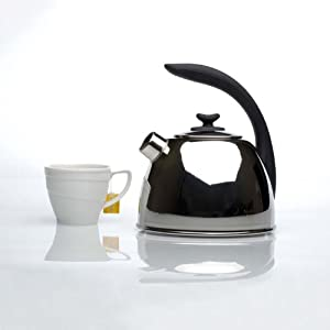 BergHOFF 11 Cups Whistling Tea Kettle by Berghoff