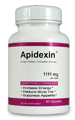 New 1111mg Apidexin Weight Loss & Diet, Wakame Seaweed & Foslean, Voted #1