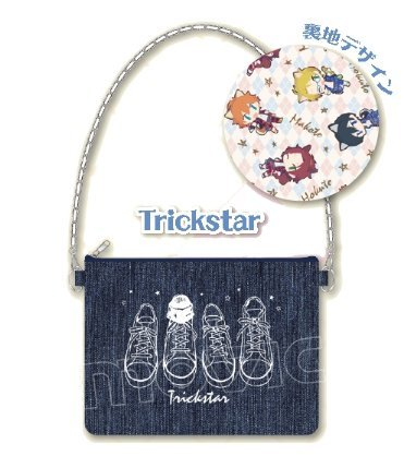 [Ensemble Stars! denim clutch bag / A: Trickstar From Japan New] (4 Star Dragonball Costume Color)