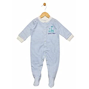grey robot sleepsuit - grey & white, 18-24m