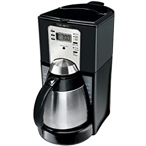 Amazon.com: Mr. Coffee FTTX95-1 10-Cup Thermal Coffeemaker, Black: Drip Coffeemakers: Kitchen ...