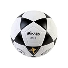 Mikasa Official Goal Master Soccer-football-futbal Ball-size 5-white with Black by Mikasa Sports