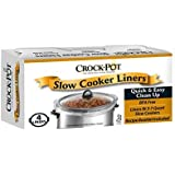 Crockpot Slow Cooker Liner - 4 liners 13In x 20.30In