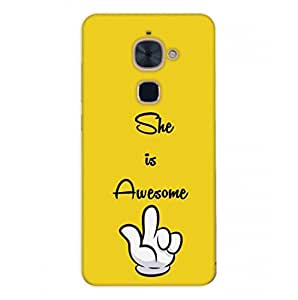 Happoz Letv LeEco Le 2 Cases Back Cover Mobile Pouches Shell Hard Plastic Graphic Armour Premium Printed Designer Cartoon Girl 3D Funky Fancy Slim Graffiti Imported Cute Colurful Stylish Boys D165