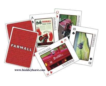 Farmall Tractor Collectible Playing Cards - 1