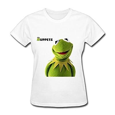 MZ Comedy Tv The Muppets Logo T Shirt For Women White