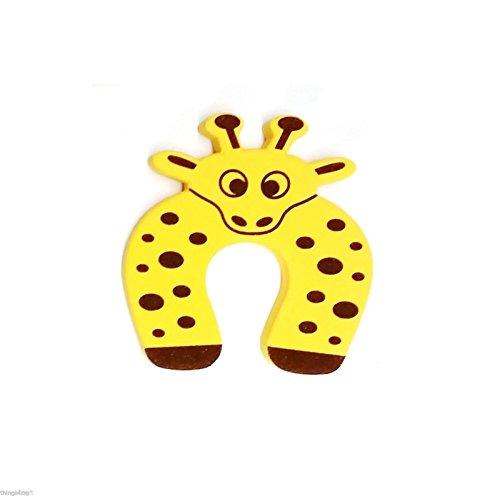 Joy Baby Children Safety Finger Pinch Foam Door Stopper-Giraffe (Infant Insert Monsters compare prices)