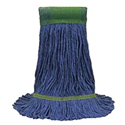 O\'Cedar Commercial 97158 MaxiClean Loop-End Mop, X-Large, Blue (Pack of 12)