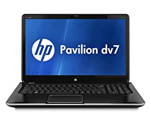 HP Pavilion dv7-7030us 17.3-Inch Notebook (2.3GHz Intel Core i7-3610QM Processor, 8GB DDR3, 1TB HDD, Windows 7 Home Premium) Black
