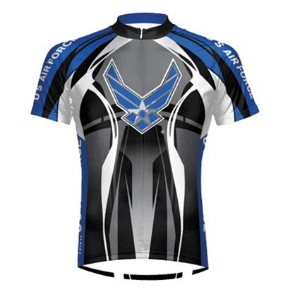 Buy Low Price Primal Wear Men's Air Force Eleven Bike Jersey – 2011 (AFT1J20M)