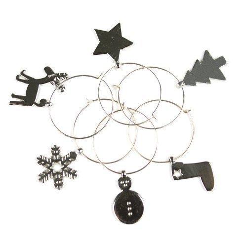 weinglas-dekoration-6-silberne-weihnachts-metall-weinglas-anhanger-getrank-markierung-tolles-weihnac