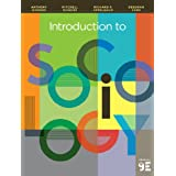 Introduction to Sociology by Anthony Giddens  Mitchell Duneier and    Introduction Sociology Textbook