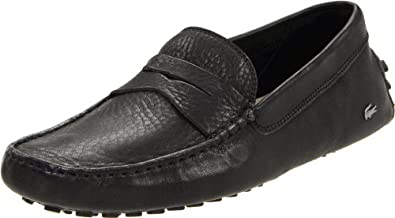 Lacoste Men's Concours 2 Penny Loafer,Black,9 M US