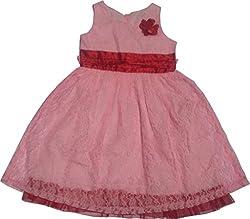 Bisbasta Pretty Pink Net Girls Frock(11-12 Year)