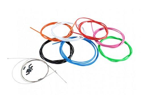 25-m-farbige-Schaltzughlle-7-Farben-inkl-Schaltzug-9-Endhlsen-2-Endkappen-FarbeGrn