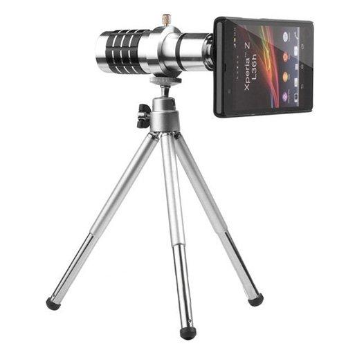 12X Zoom Camera Lens Phone Telescope Telephoto For Sony Xperia Z L36H