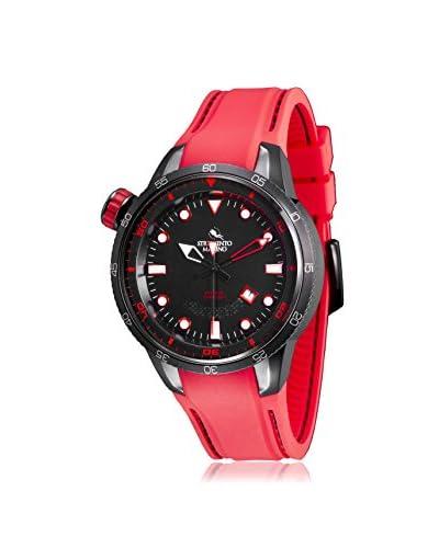 Strumento Marino Men's Red/Black SM108S/BK/NR/RS/RS Watch