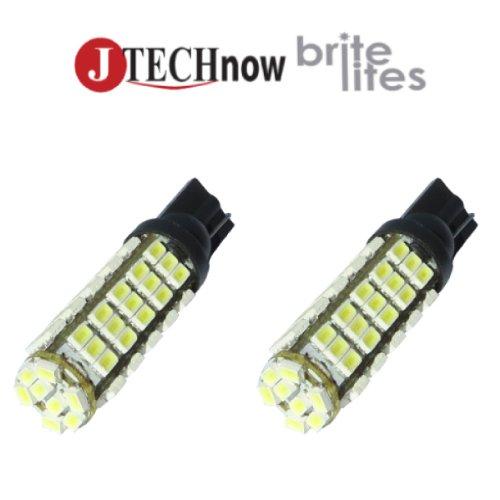 Jtech 2X T10 T15 68-Smd 12V White Led Car Lights Bulb Super Bright