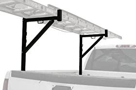 MaxWorks 70233 Black Ladder Rack