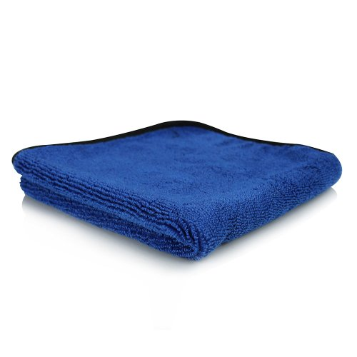 Chemical Guys MIC110001 Monster Extreme Thickness Microfiber Towel (16 inch x 16 inch, Blue)