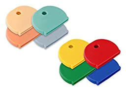 Lucky Line Products Key Caps X-Large, 4 Pack, Assorted Colors (16004)