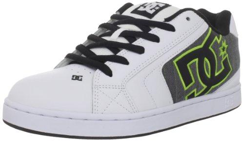 Dc Net se White/black/soft lime green 7.5uk