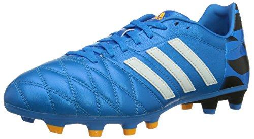 Adidas, 11 Nova Fg, Scarpe Sportive, Uomo, Multicolore (Sol Blu/C White/C Black), 41 1/3