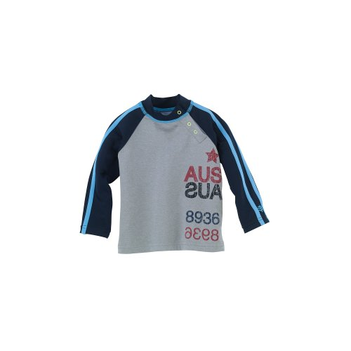 Coolibar Upf 50+ Baby Boy'S Rash Guard - Sun Protection (3-6 Months - Sail Art)